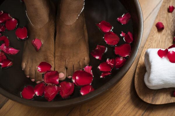 Tajski rytuał dla stóp i dłoni
