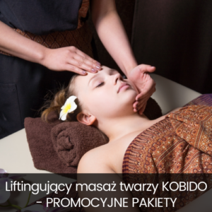 Liftingujący masaż twarzy KOBIDO